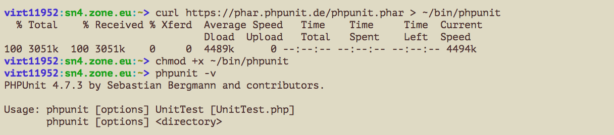 phpunit_install_ssh